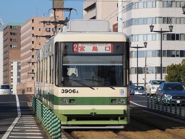 広島電鉄 3900形 3906号車