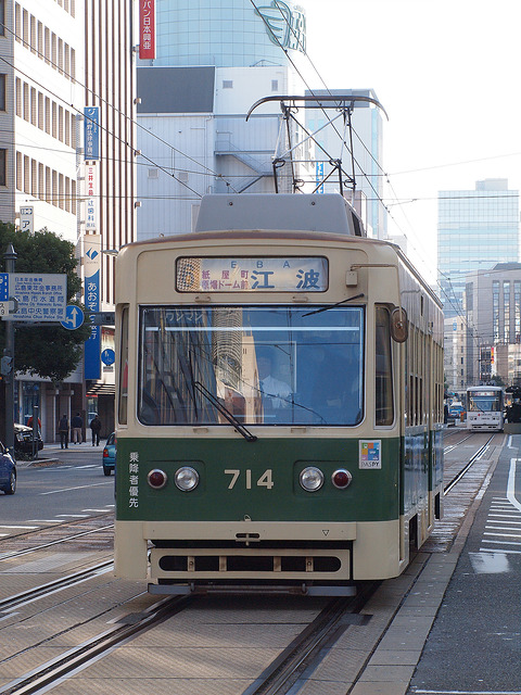 広島電鉄 700形 714号車