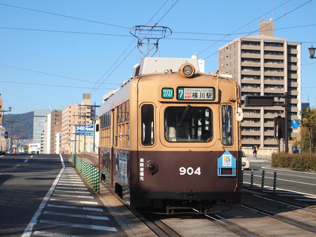 広島電鉄 900形 904号車