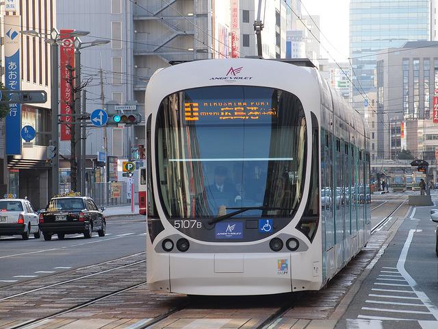 広島電鉄 5100形 5107号車