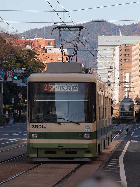 広島電鉄 3900形 3901号車