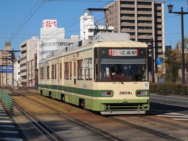 広島電鉄 3800形 3809号車