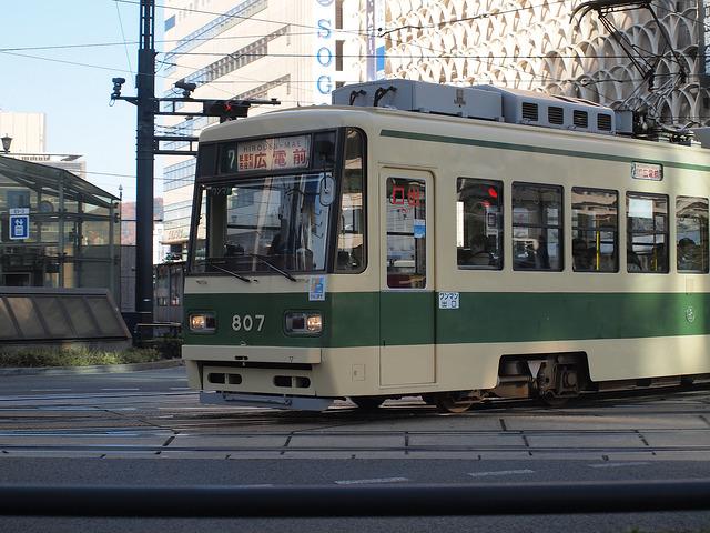 広島電鉄 800形 807号車