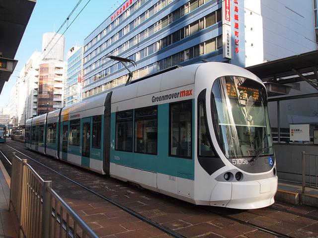 広島電鉄 5100形 5105号車