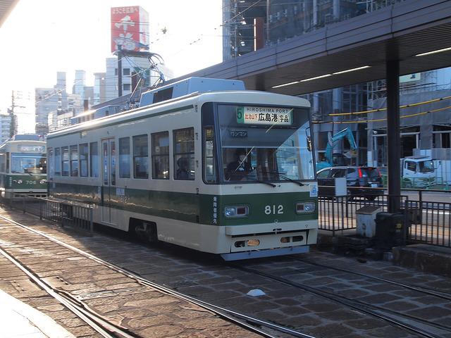 広島電鉄 800形 812号車