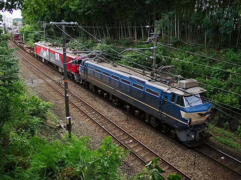 2072レ EF66 27 + ムドEH500-70
