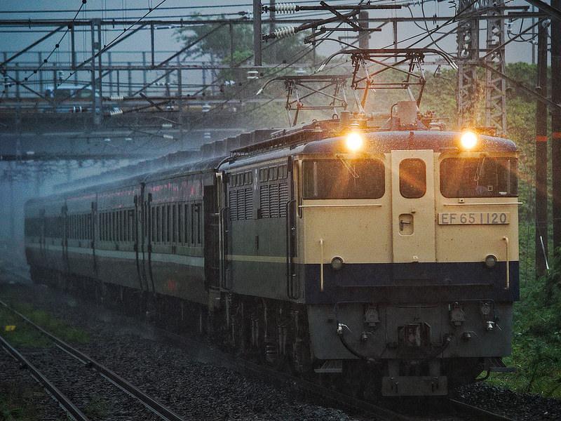 レトロ客車 廃車回送