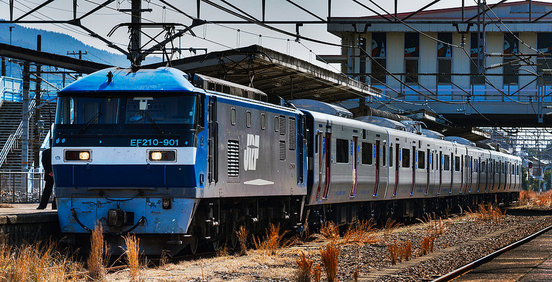 EF210-901 JR Kyusyu 821 series delivery