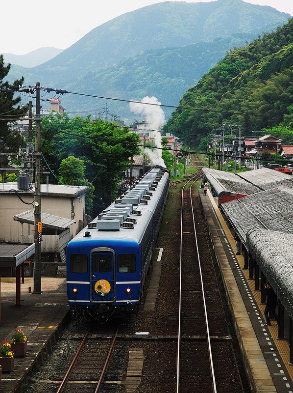 Arigato C56 (last run of C56160 in Yamaguchi line)
