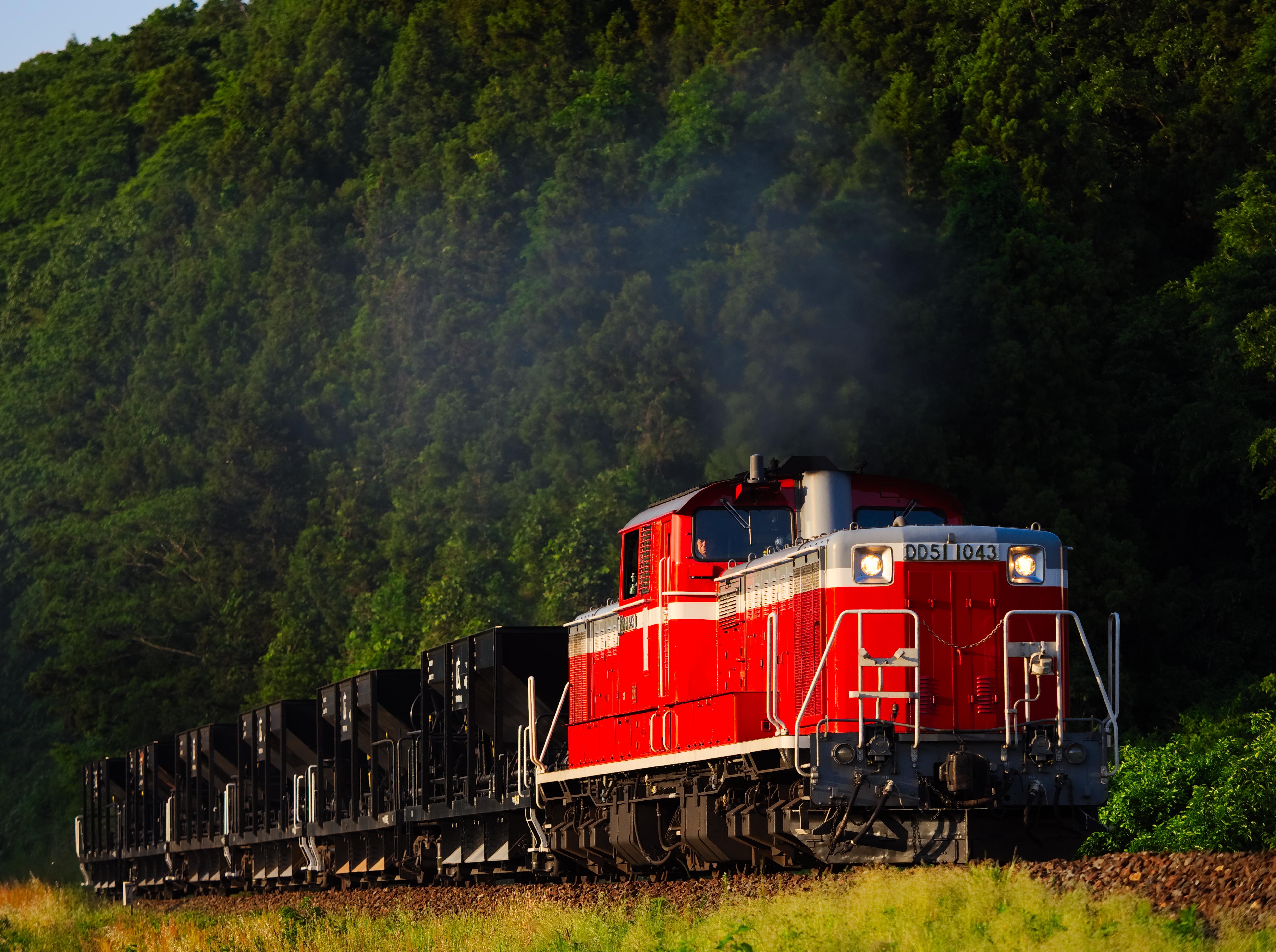 山口線DD51訓練列車