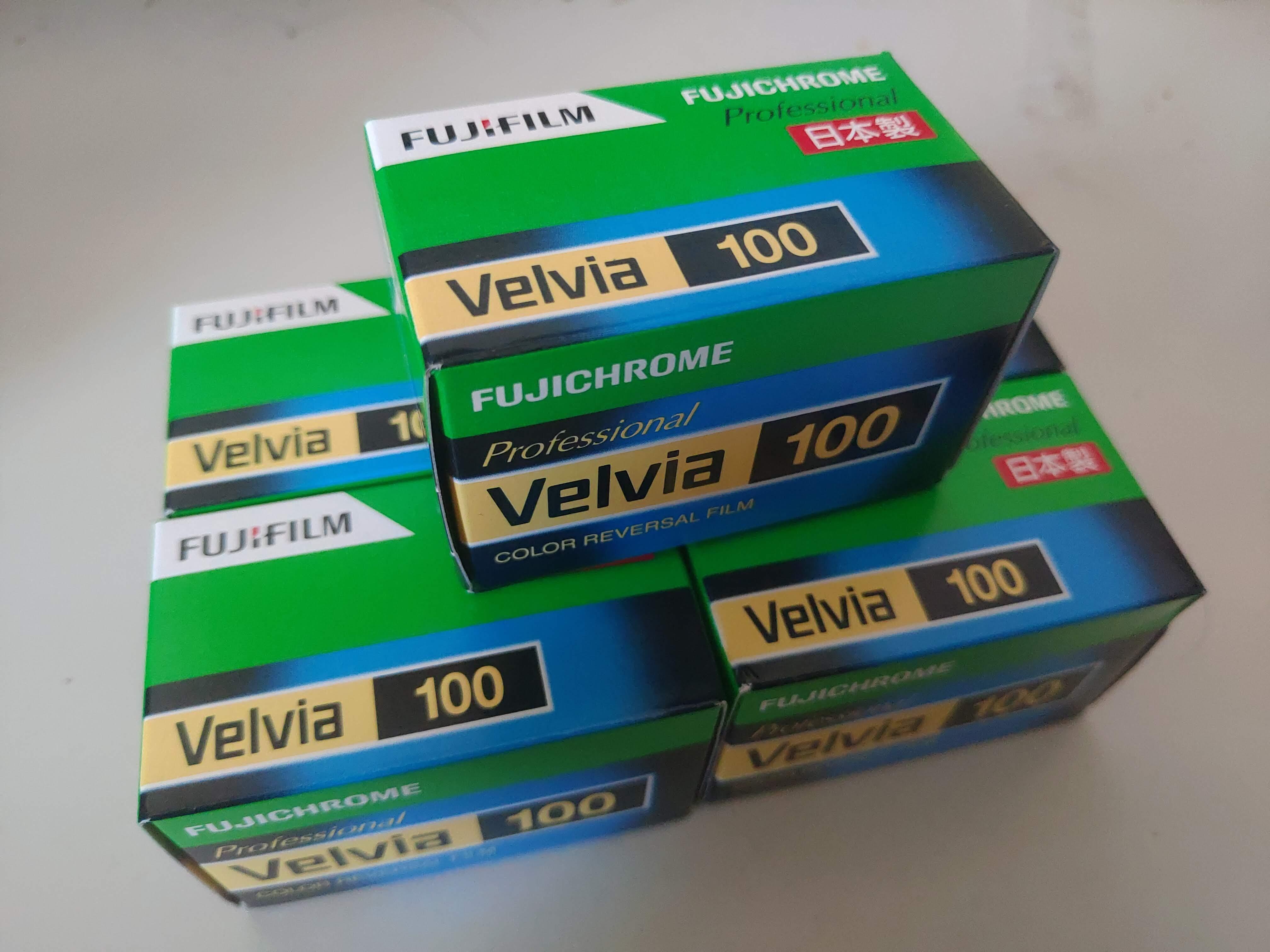 値上げ対策としてフィルムを大量購入した